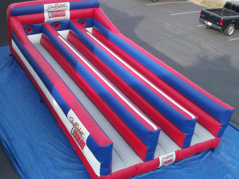 inflatable race lane price